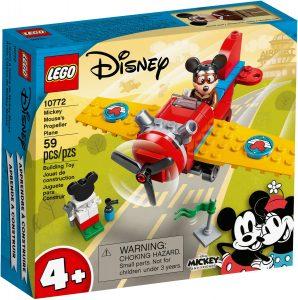 lego 10772 mysiak mickey a vrtulove lietadlo
