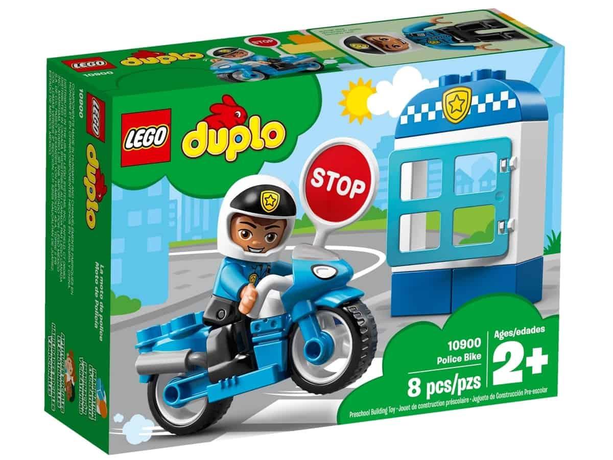 lego 10900 policajna motorka
