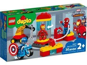 lego 10921 laboratorium superhrdinov