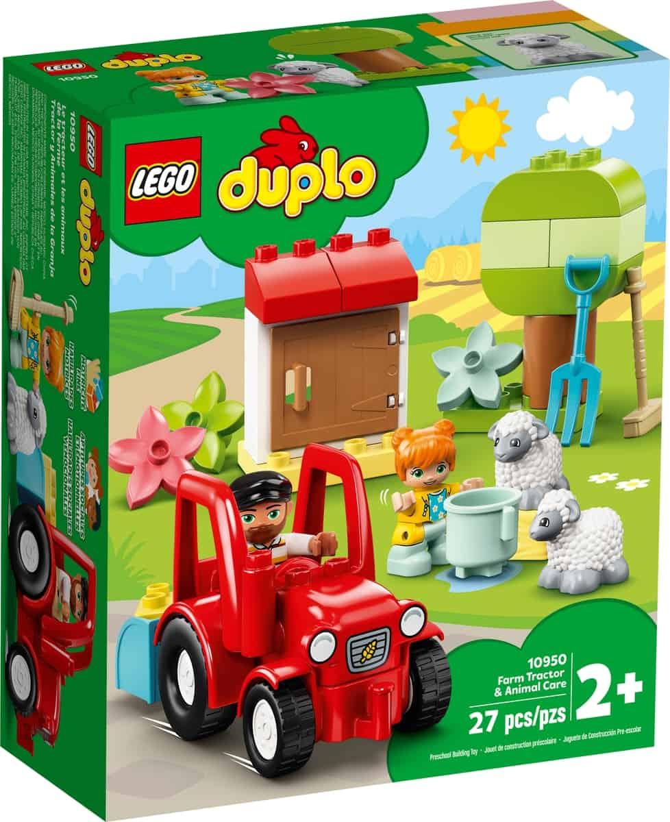 lego 10950 traktor a zvieratka z farmy