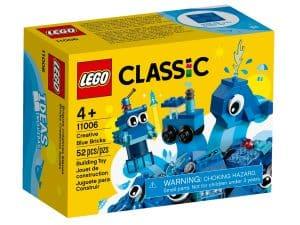 lego 11006 modre kreativne kocky