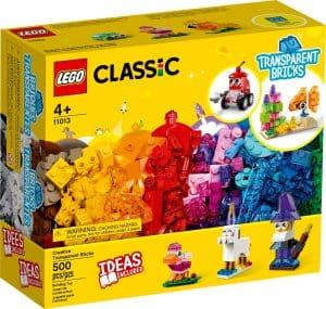 lego 11013 priesvitne kreativne kocky
