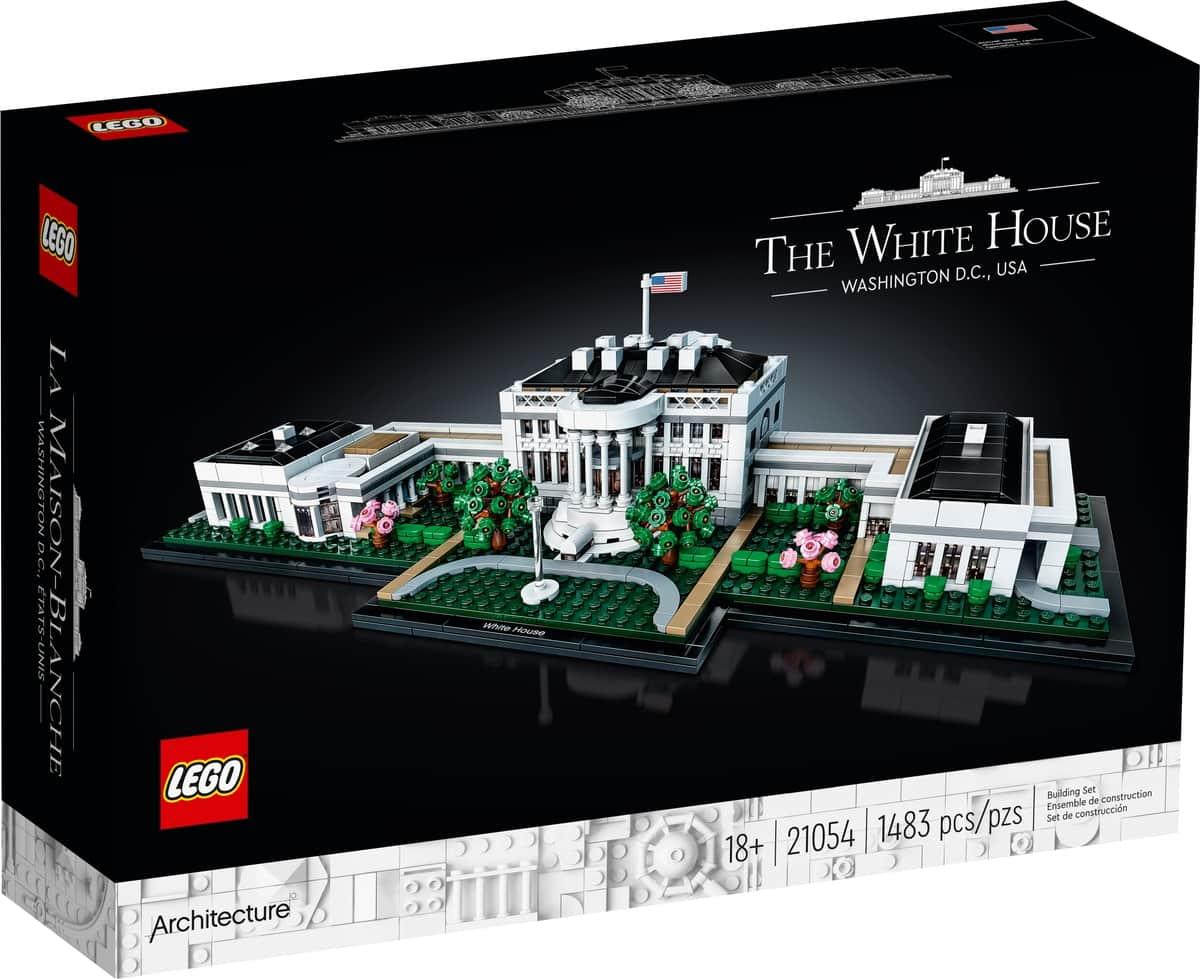 lego 21054 biely dom