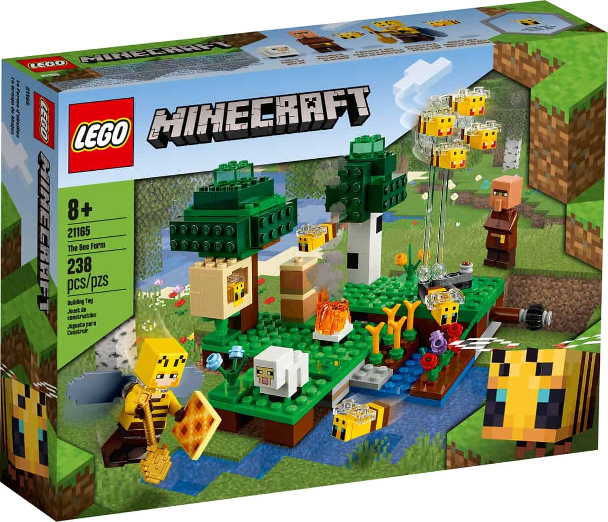 lego 21165 vcelia farma
