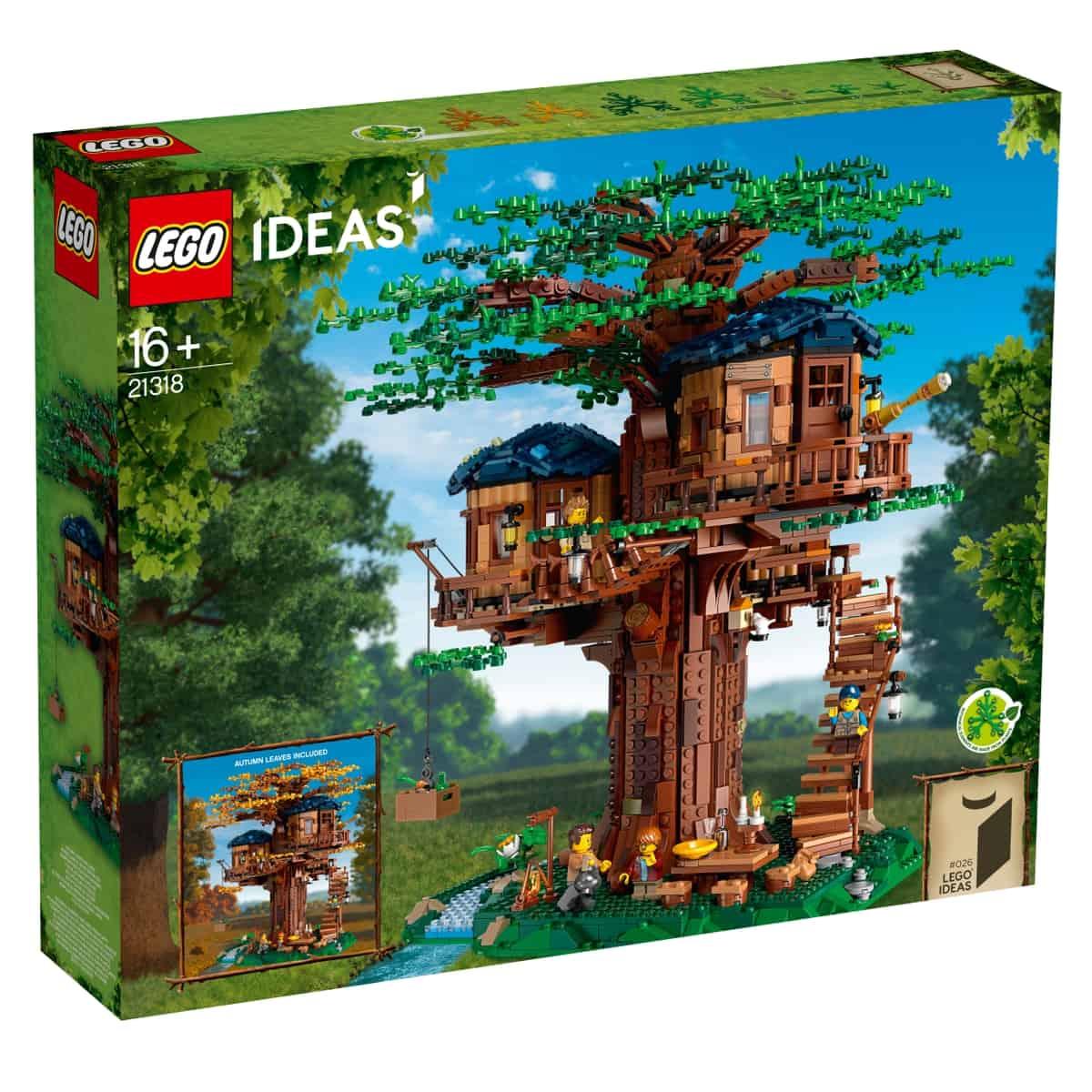 lego 21318 domcek na strome