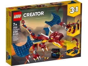 lego 31102 ohnivy drak