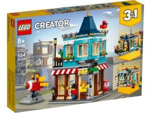 lego 31105 hrackarstvo v centre mesta