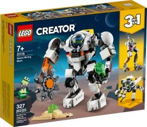 lego 31115 vesmirny tazobny robot