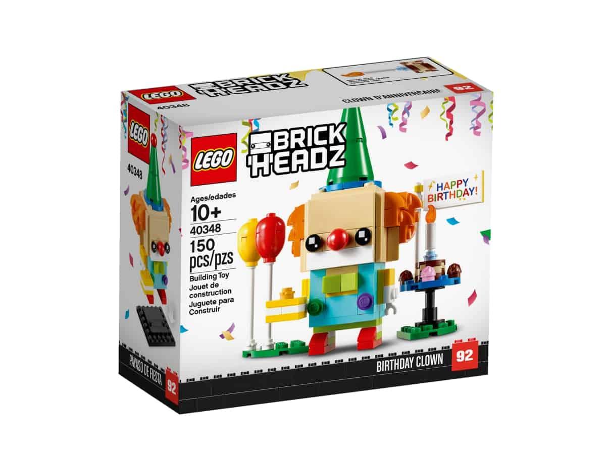 lego 40348 narodeninovy klaun