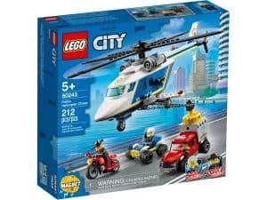 lego 60243 prenasledovanie policajnou helikopterou