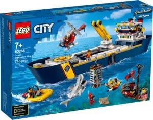 lego 60266 oceanska prieskumna lod