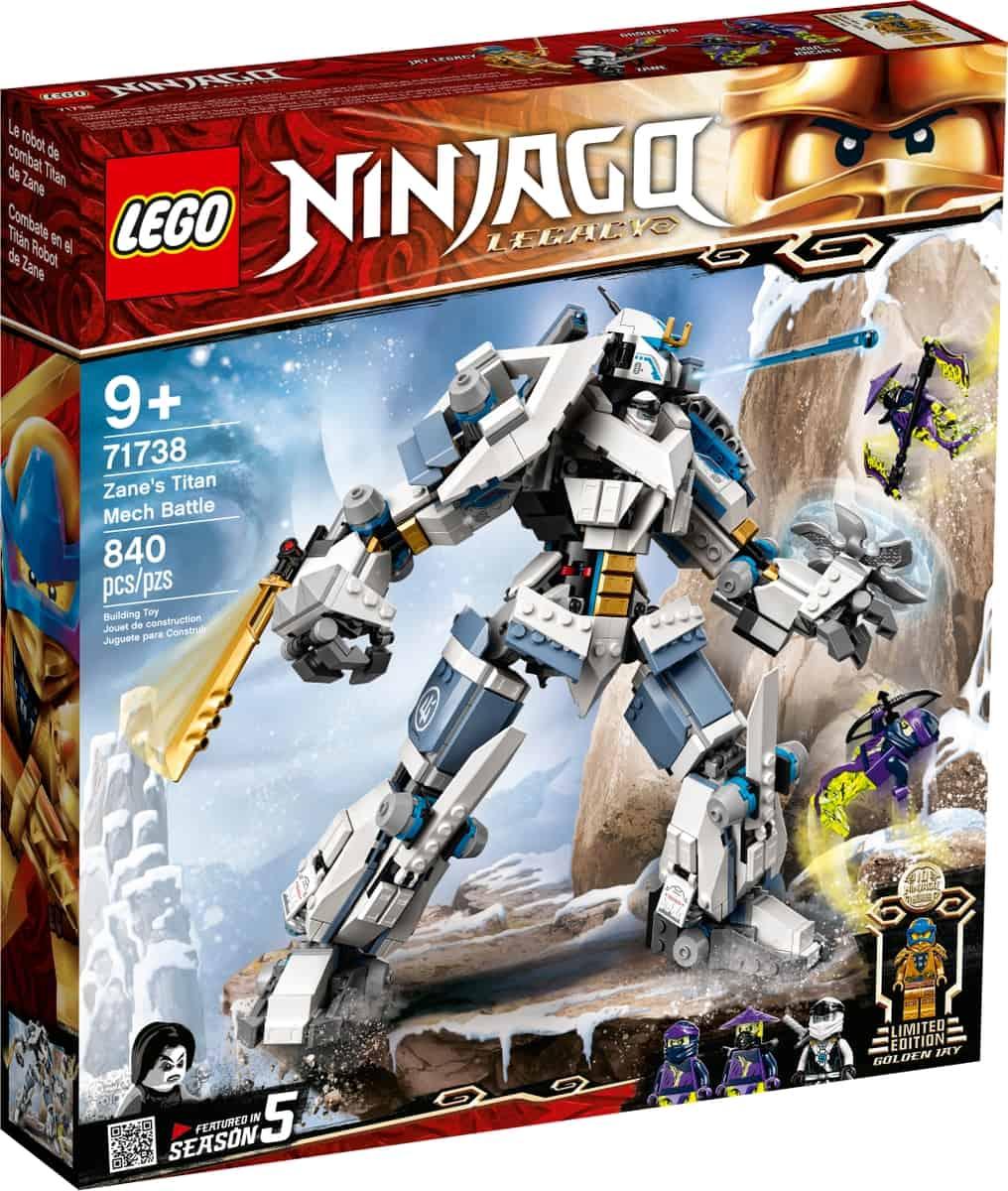 lego 71738 zaneova bitka s titanskymi robotmi