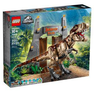lego 75936 jursky park besnenie t rexa
