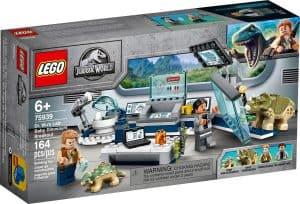 lego 75939 laboratorium dr wu utek dinosaurich mladat
