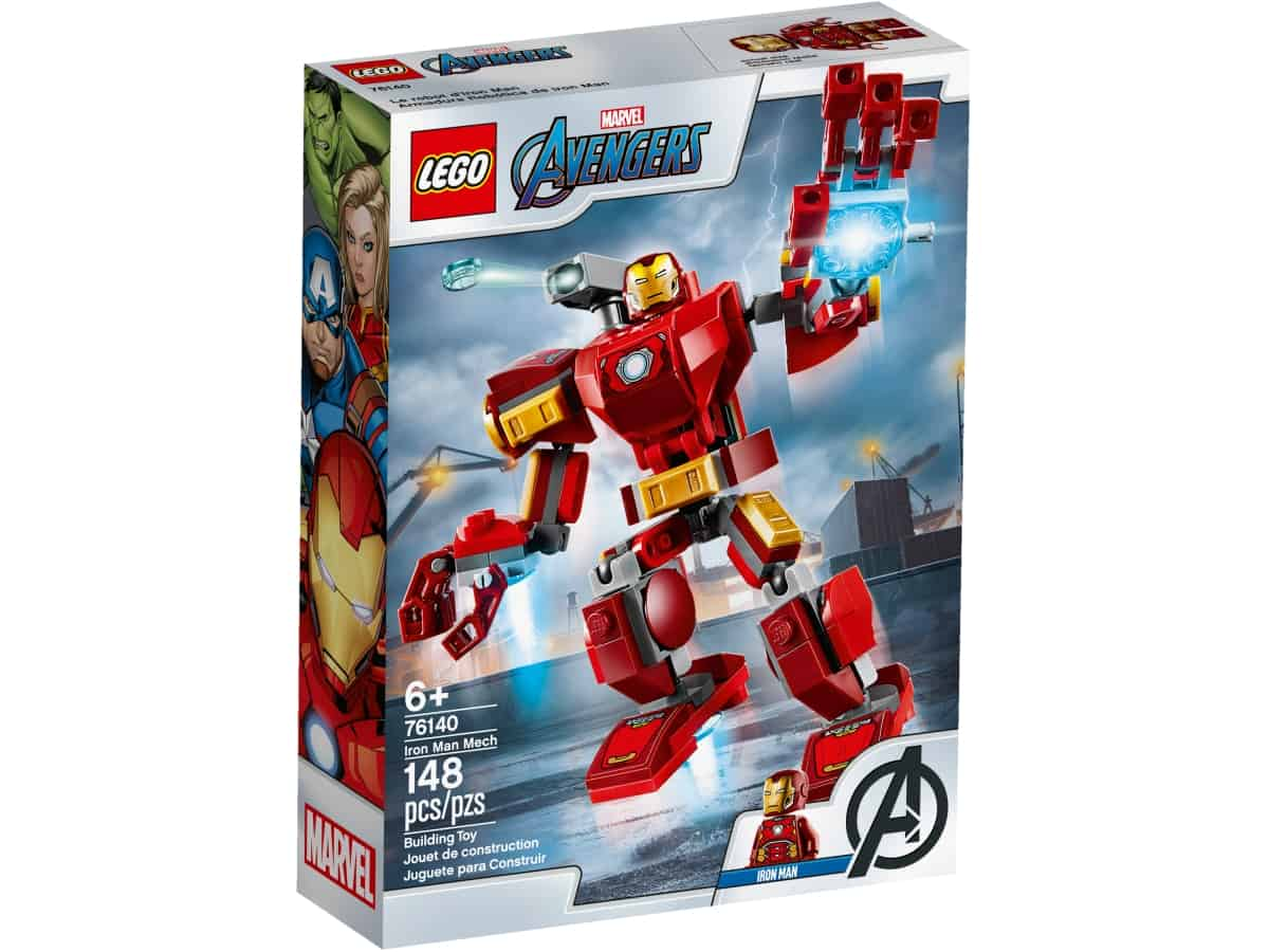 lego 76140 iron manov robot