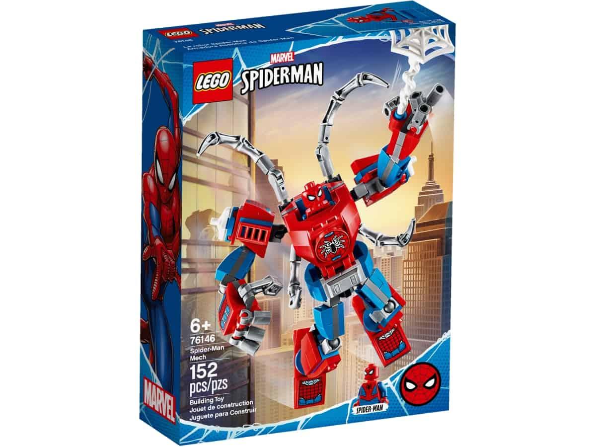 lego 76146 spider manov robot