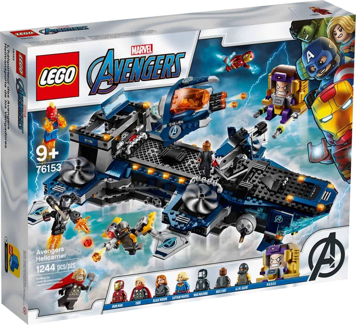 lego 76153 helicarrier avengerov