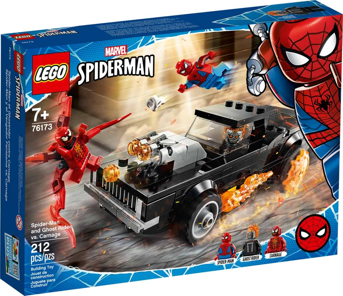 lego 76173 spider man a ghost rider vs carnage