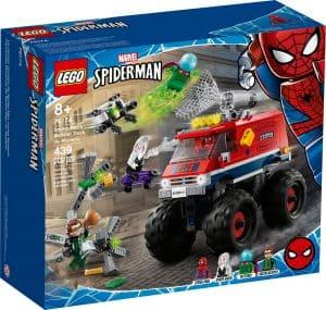 lego 76174 spider man v monster trucku vs mysterio