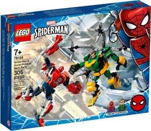 lego 76198 spider man a doctor octopus suboj robotov