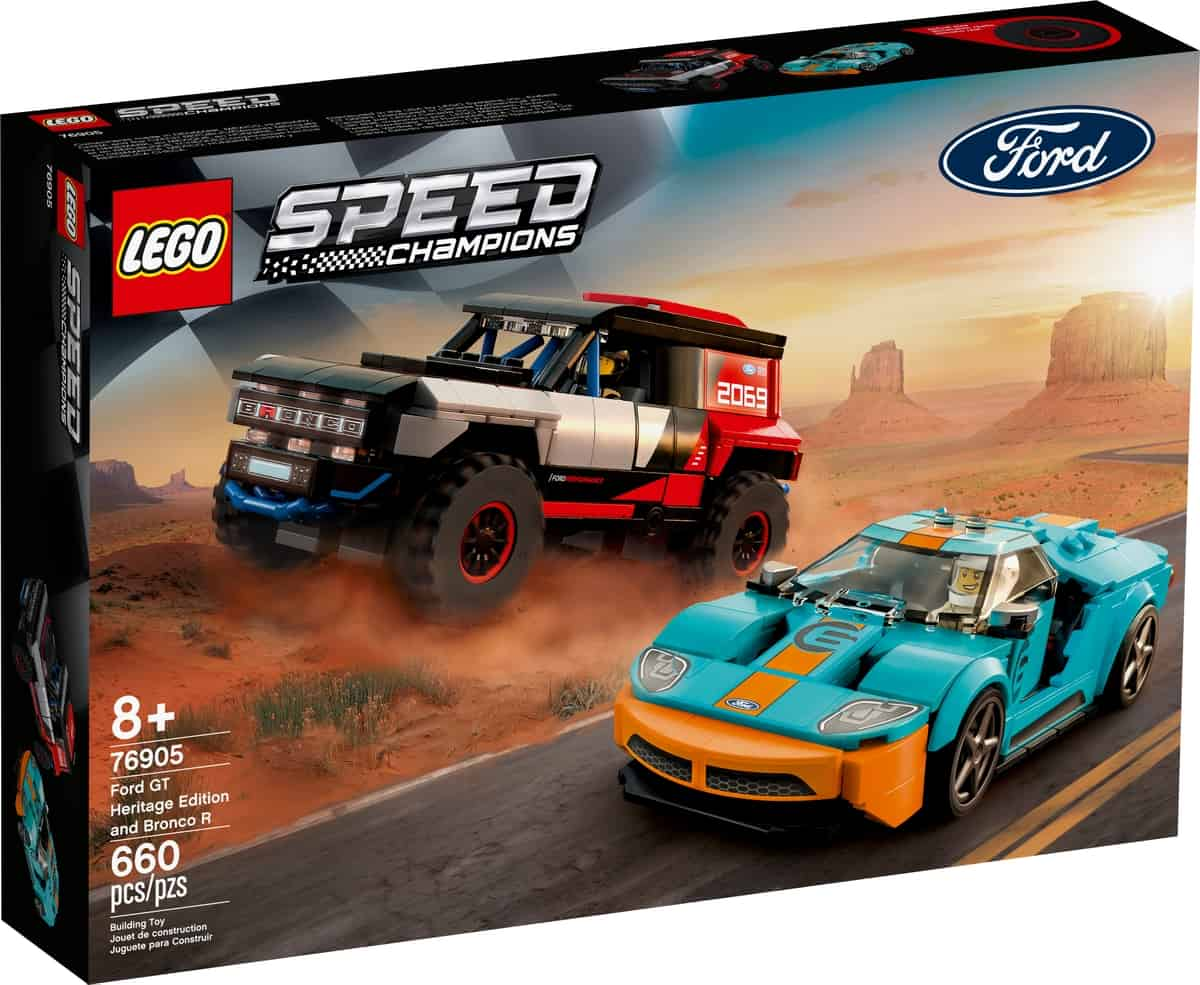 lego 76905 ford gt heritage edition a bronco r