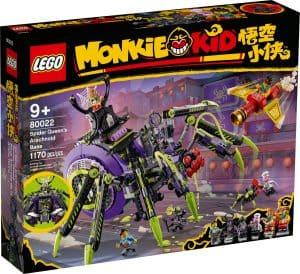 lego 80022 pavucia zakladna spider queen