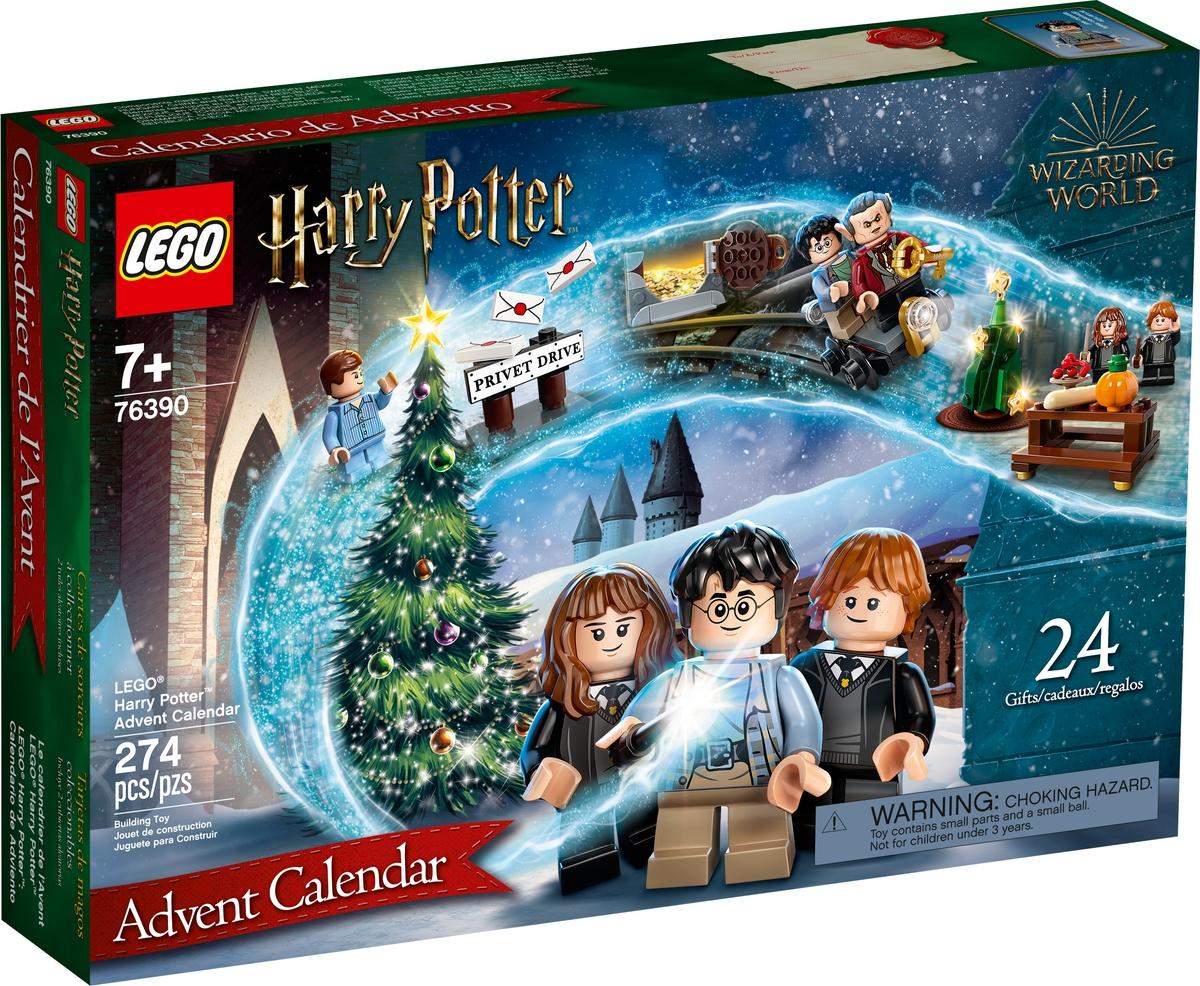 adventny kalendar lego 76390 harry potter