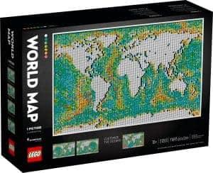 lego 31203 mapa sveta