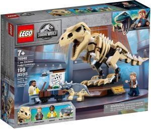 lego 76940 vystava fosilii t rexa