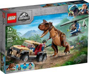 lego 76941 dinosauria nahanacka s carnotaurom