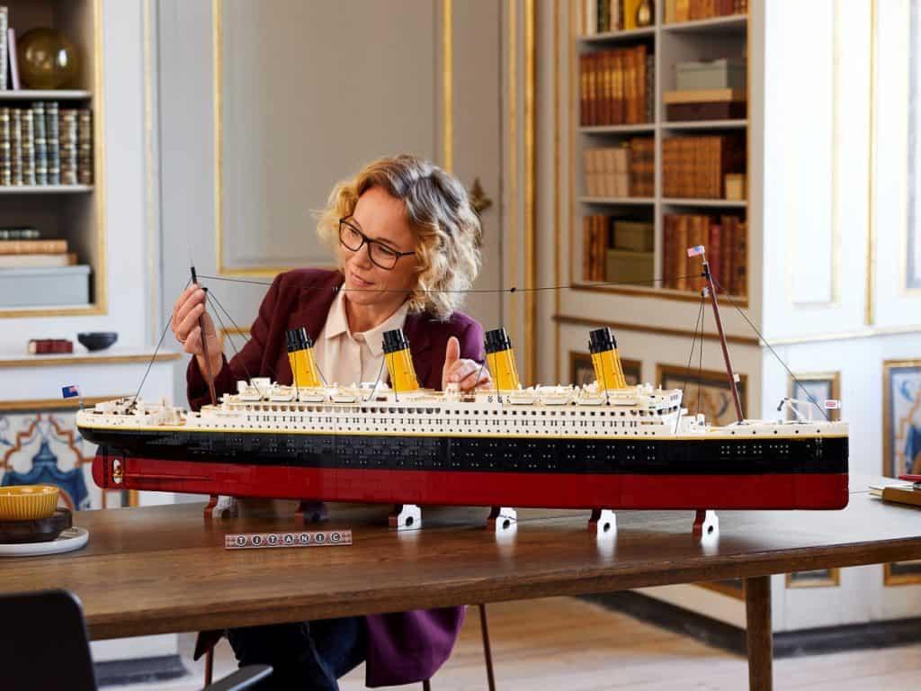 LEGO Titanic 10294 - Detail 1