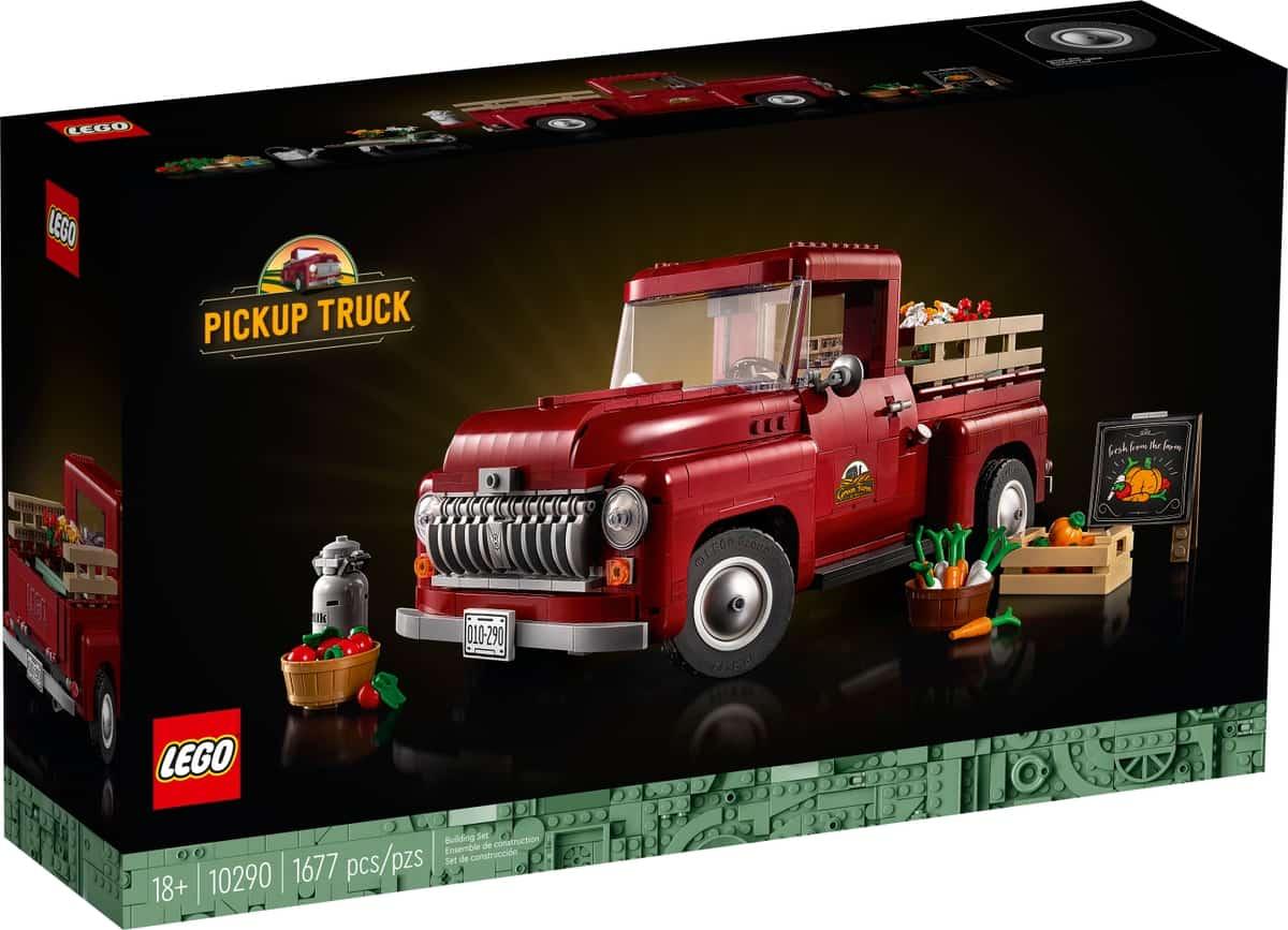 lego 10290 pick up