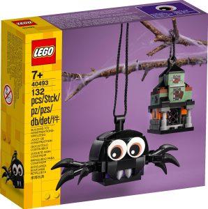 lego 40493 balicek s pavukom a strasidelnym domom