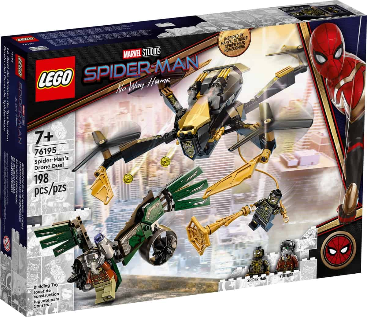 lego 76195 spider man a duel s dronom