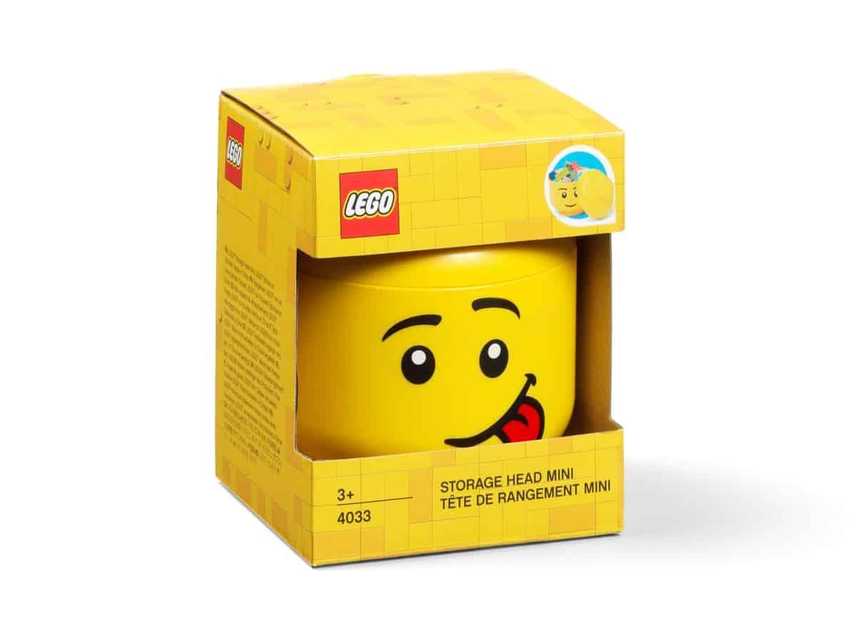 maly ulozny lego 5006210 minibox v tvare hlavy nezbednik