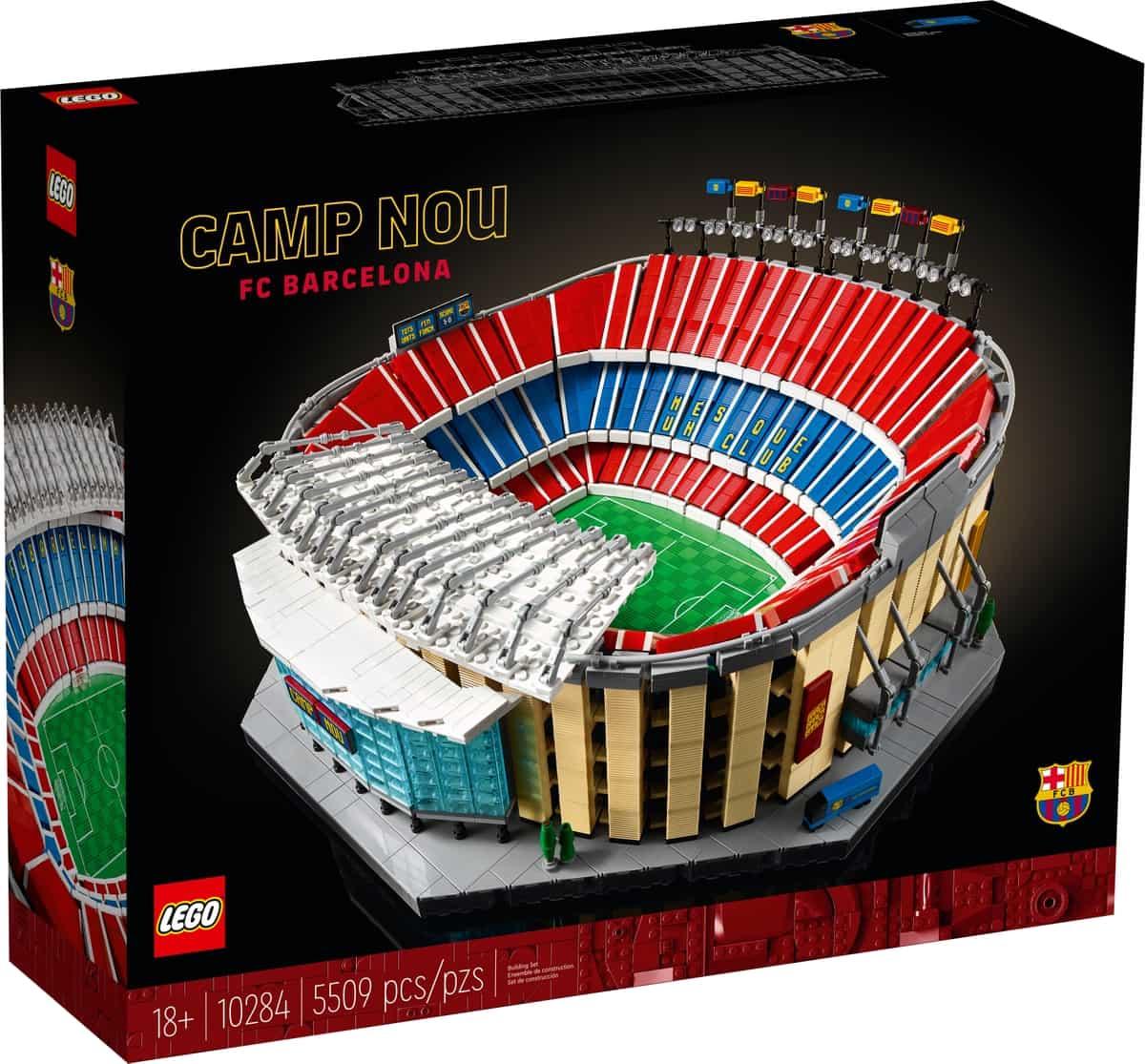LEGO 10284 Štadión Vamp Nou – FC Barcelona